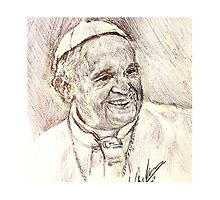 POPE FRANCIS by Billy Jackson