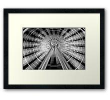 Paper lantern Framed Print