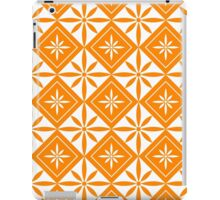 Orange 1950s Inspired Diamonds iPad Case/Skin