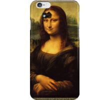 Mona Lisa Time iPhone Case/Skin