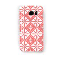 Pink 1950s Inspired Diamonds Samsung Galaxy Case/Skin