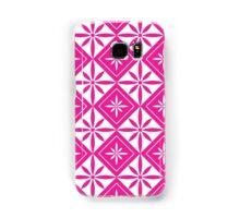 Hot Pink 1950s Inspired Diamonds Samsung Galaxy Case/Skin