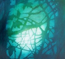 Moonlight Canopy, Weston Woods by GwynArdyth