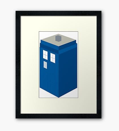 Dr. Who Tardis Framed Print