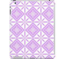 Lilac 1950s Inspired Diamonds iPad Case/Skin