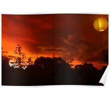Light In A Red Night #1 - Nov 2010 Poster