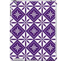 Purple 1950s Inspired Diamonds iPad Case/Skin