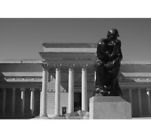 the Thinker ~ Legion of Honor Photographic Print