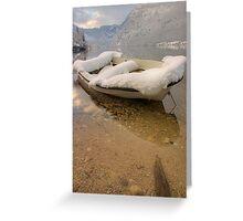 Lake Bohinj in Winter Greeting Card