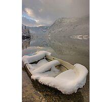 Lake Bohinj in Winter Photographic Print