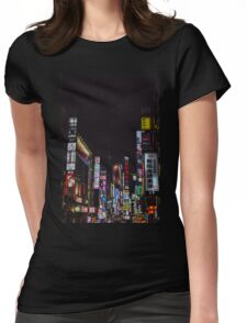 Kabukicho's Dreams Womens Fitted T-Shirt