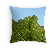 Cabbage Leaf Throw Pillow