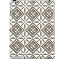 Warm Grey 1950s Inspired Diamonds iPad Case/Skin