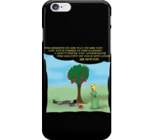 Newton and the Apple 11 iPhone Case/Skin