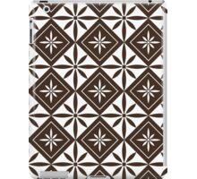 Chocolate 1950s Inspired Diamonds iPad Case/Skin