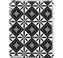 Black 1950s Inspired Diamonds iPad Case/Skin