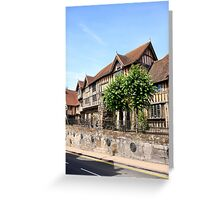 The Lord Leycester Hospital in Warwick Greeting Card