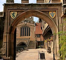 Norman Archway in Warwick by Chris L Smith