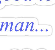 Female Man Flu Sticker