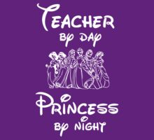 Teacher By Day Princess By Night (Disney) by Cara Ford