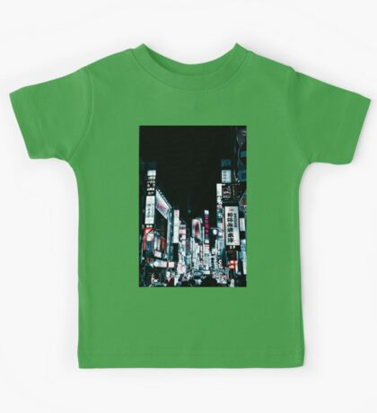 Kabukicho's Signs Kids Tee