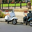 Black and White Scooters by chris-csfotobiz