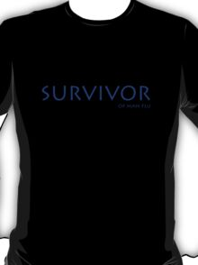 Survivor of man flu T-Shirt