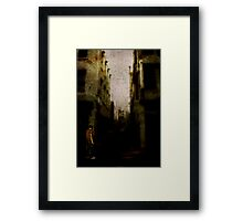 Shadows Of Sleeping Ghosts Framed Print
