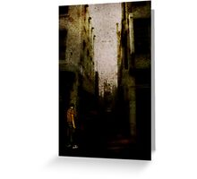 Shadows Of Sleeping Ghosts Greeting Card