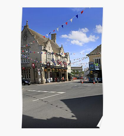 Tetbury in Gloucestershire England Poster