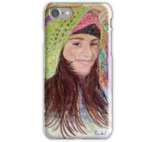 Girl in a hat iPhone Case/Skin