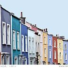 Terrace in Bristol by Sue Porter