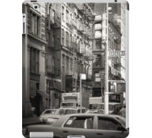 Toned streetscape in Broadway iPad Case/Skin