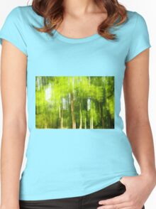 Trees in Motion Women's Fitted Scoop T-Shirt