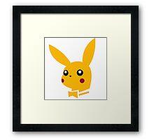 pikachu pokemon Framed Print