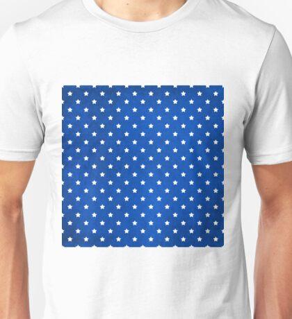 Stars On Digital Fabric Texture Unisex T-Shirt