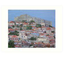 Molyvos II, Lesvos, Greece Art Print