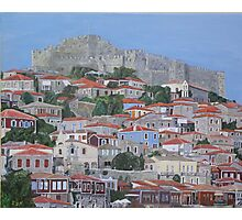 Molyvos II, Lesvos, Greece Photographic Print