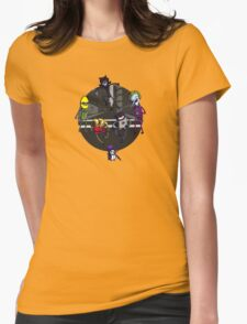 Batfinn and the Dog Wonder Womens Fitted T-Shirt