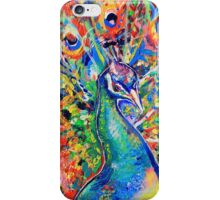 Colourful Peacock iPhone Case/Skin