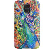 Colourful Peacock Samsung Galaxy Case/Skin