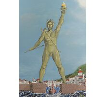 Colossus of Rhodes Photographic Print