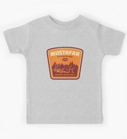 Tulrus Island Hiking Kids Tee