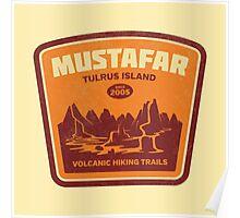 Tulrus Island Hiking Poster