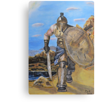 Spartan Warrior, One of the three hundred Canvas Print