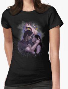 BATB - VinCat Portrait Womens Fitted T-Shirt