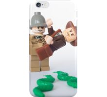 Snakes. Why'd it have to be snakes? iPhone Case/Skin
