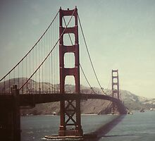 The Golden Gate Bridge - San Francisco by Circe Lucas