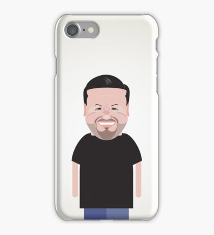 Ricky Gervais. iPhone Case/Skin