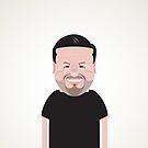 Ricky Gervais. by Mrdoodleillust